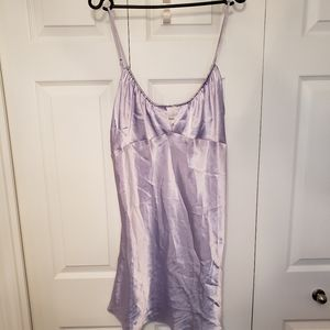 Lilac Silk & Satin nightgown XL